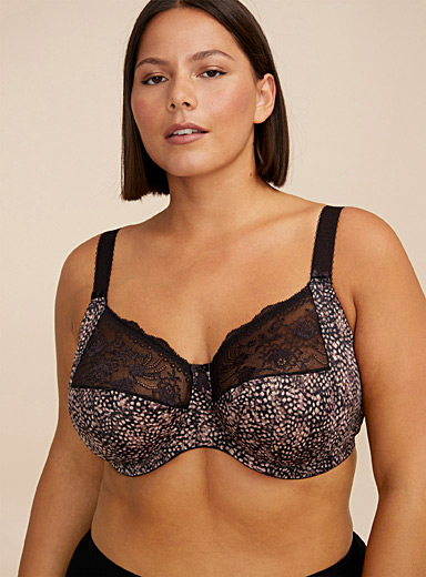 Morgan full-coverage bra Plus size
