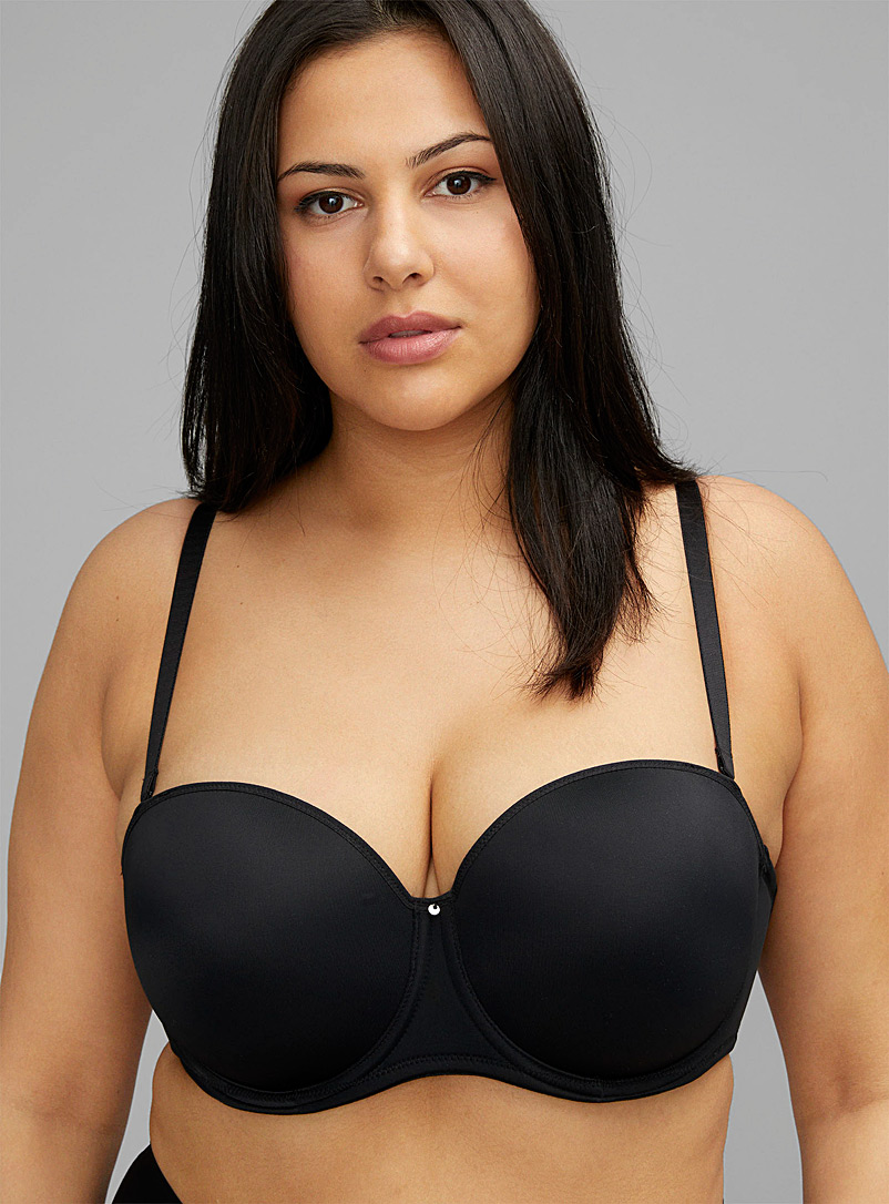 Fantasie Black Aura convertible bra for women