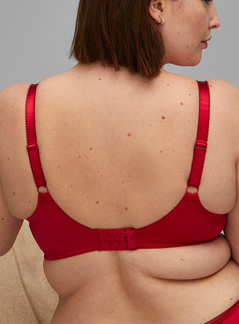 Fantasie Red Fusion full-coverage bra Plus size for women