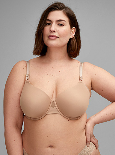 No Side Effects full-coverage bra Plus size