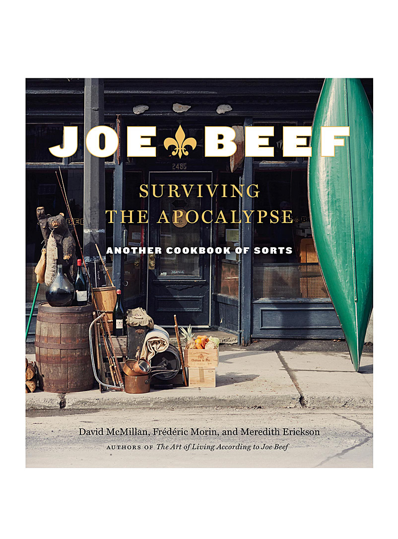 Random House Assorted Joe Beef book: Surviving the Apocalypse: Another Cookbook of Sorts for men