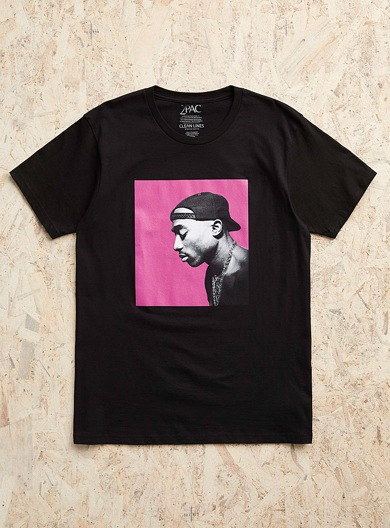 Djab Black Tupac T-shirt for men