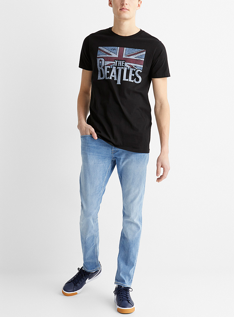 Le 31: Le t-shirt The Beatles Noir pour homme
