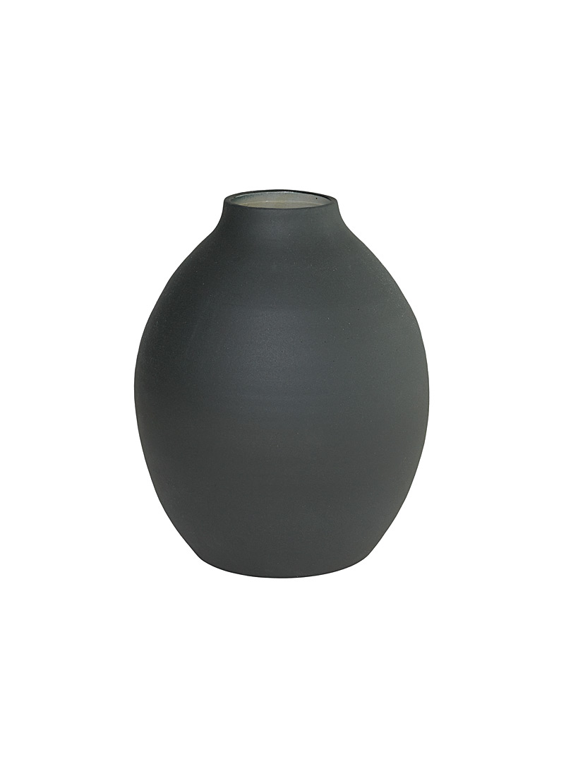 Obakki Black Taro vase  Small for women