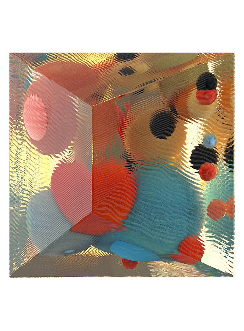 Blouin-Division Assorted Cubeworld Two print  Alex McLeod for women