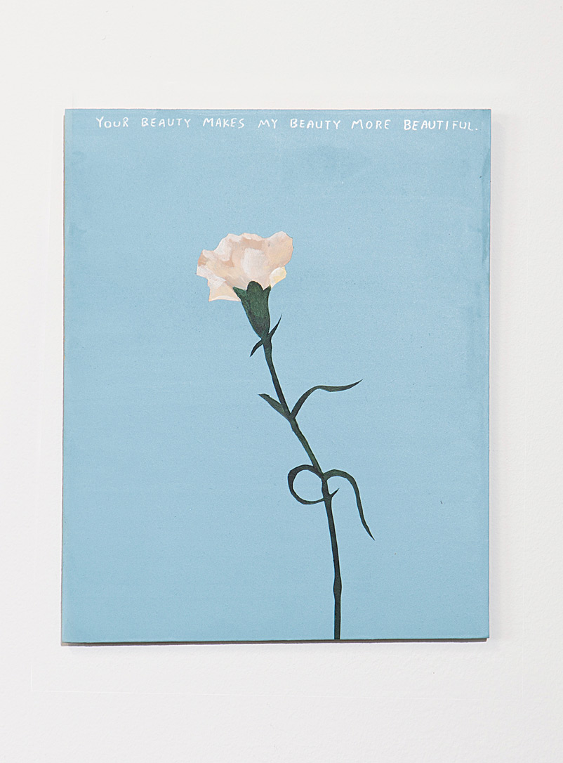Blouin-Division Assorted Flowers painting  Michael Dumontier & Neil Farber for women