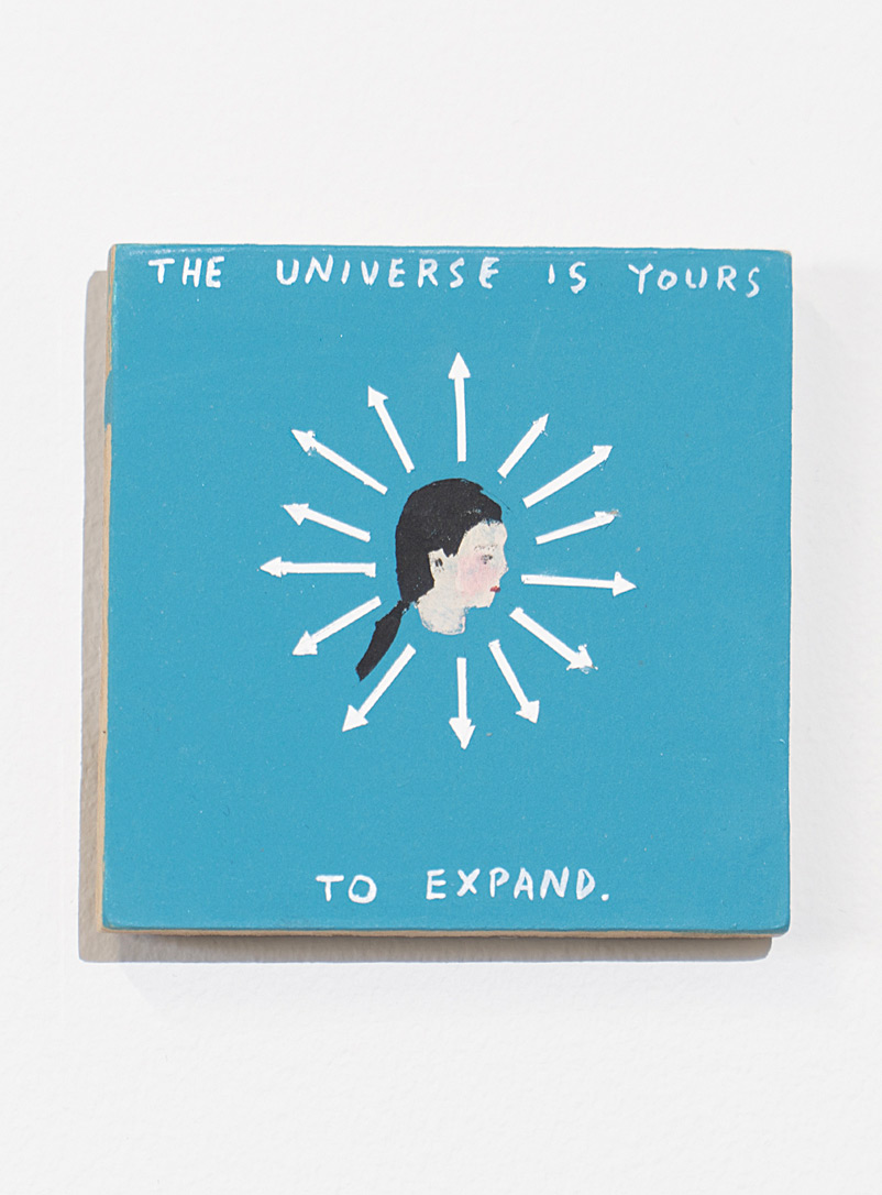 Blouin-Division Assorted The universe is yours painting  Michael Dumontier & Neil Farber for women