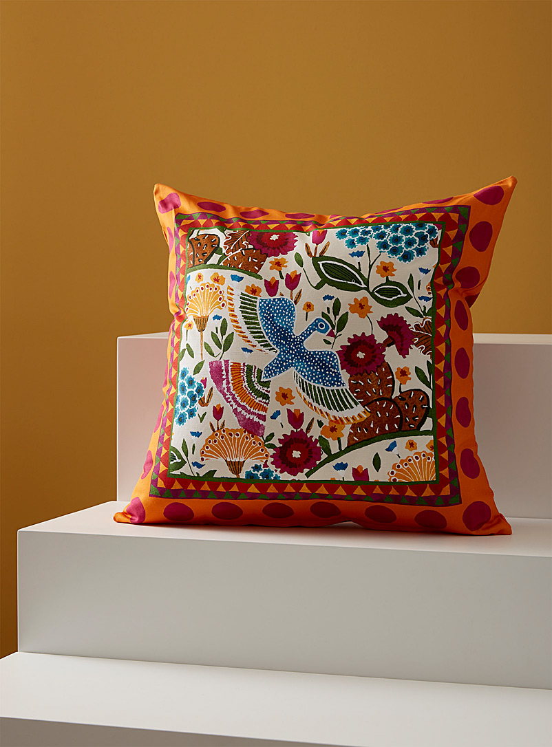La DoubleJ Assorted Liverpool cotton cushion cover for women