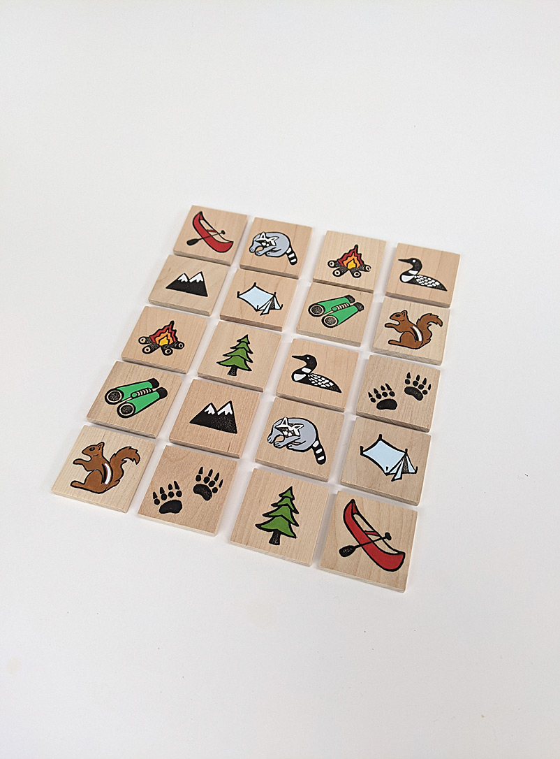 Woodpeckers Toys Assorted Wooden memory game