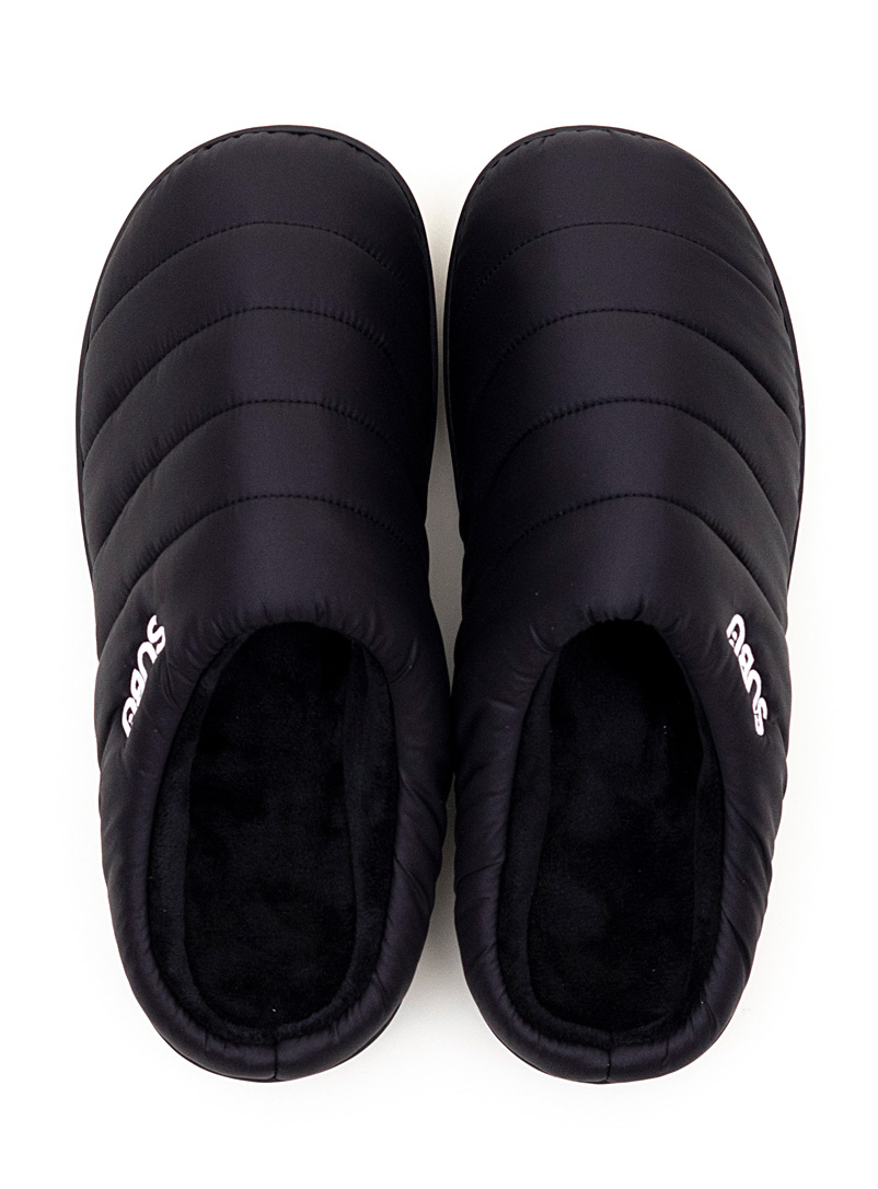 Quilted mule slippers  Men