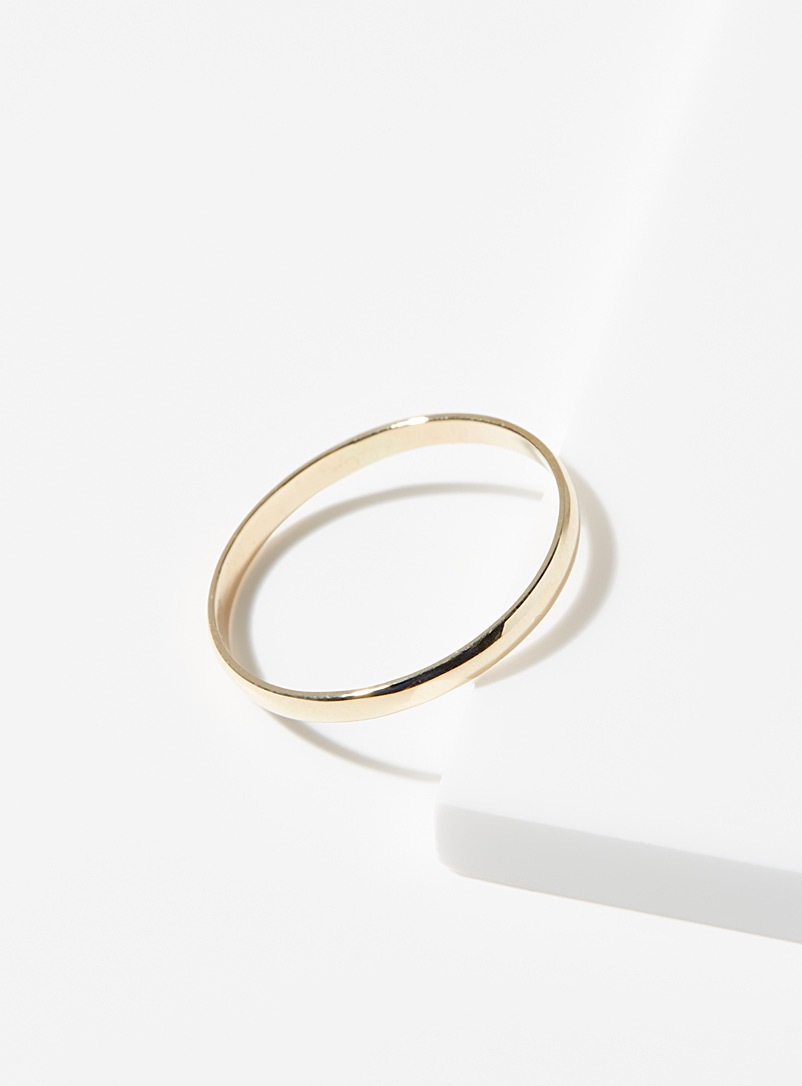 Poppy Finch Assorted Classic gold ring for women