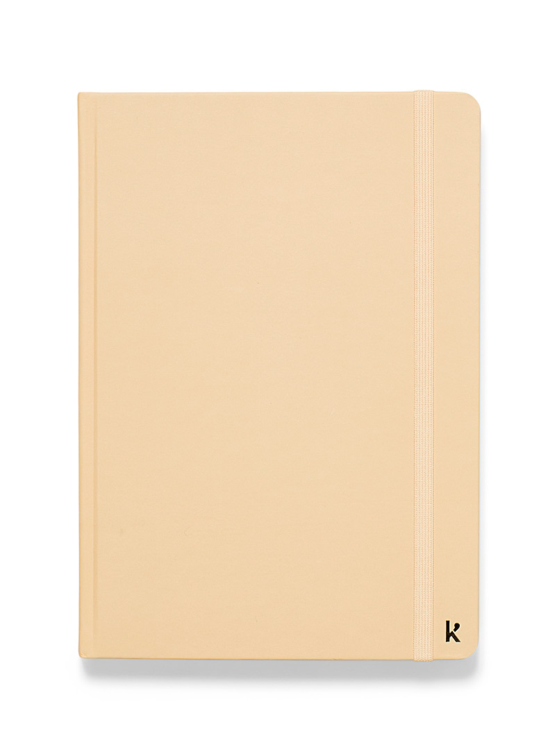 Karst Dusky Pink Recycled stone A5 lined notebook for women