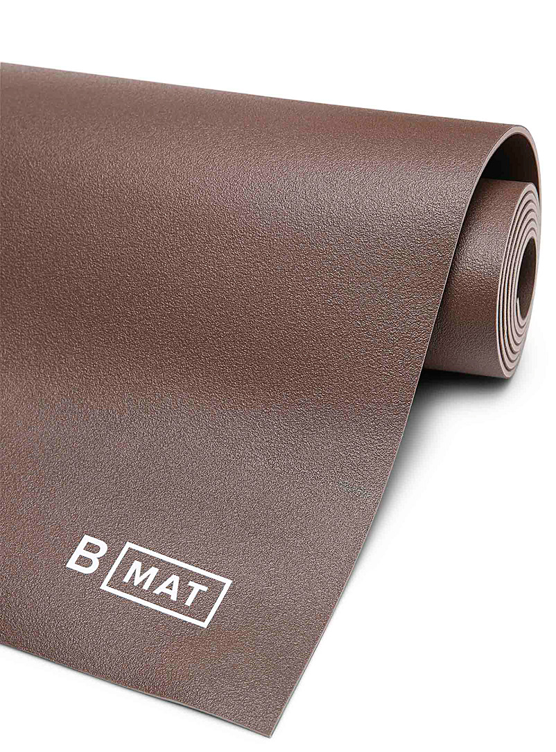 B Yoga Medium Crimson Everyday 4 mm cocoa yoga mat for women