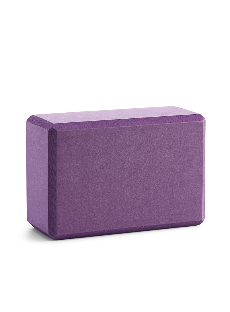 Halfmoon Medium Crimson Mauve foam support block for women
