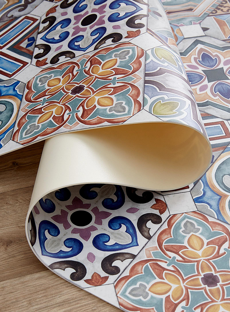 Adama Assorted Azulejos vinyl rug See available sizes