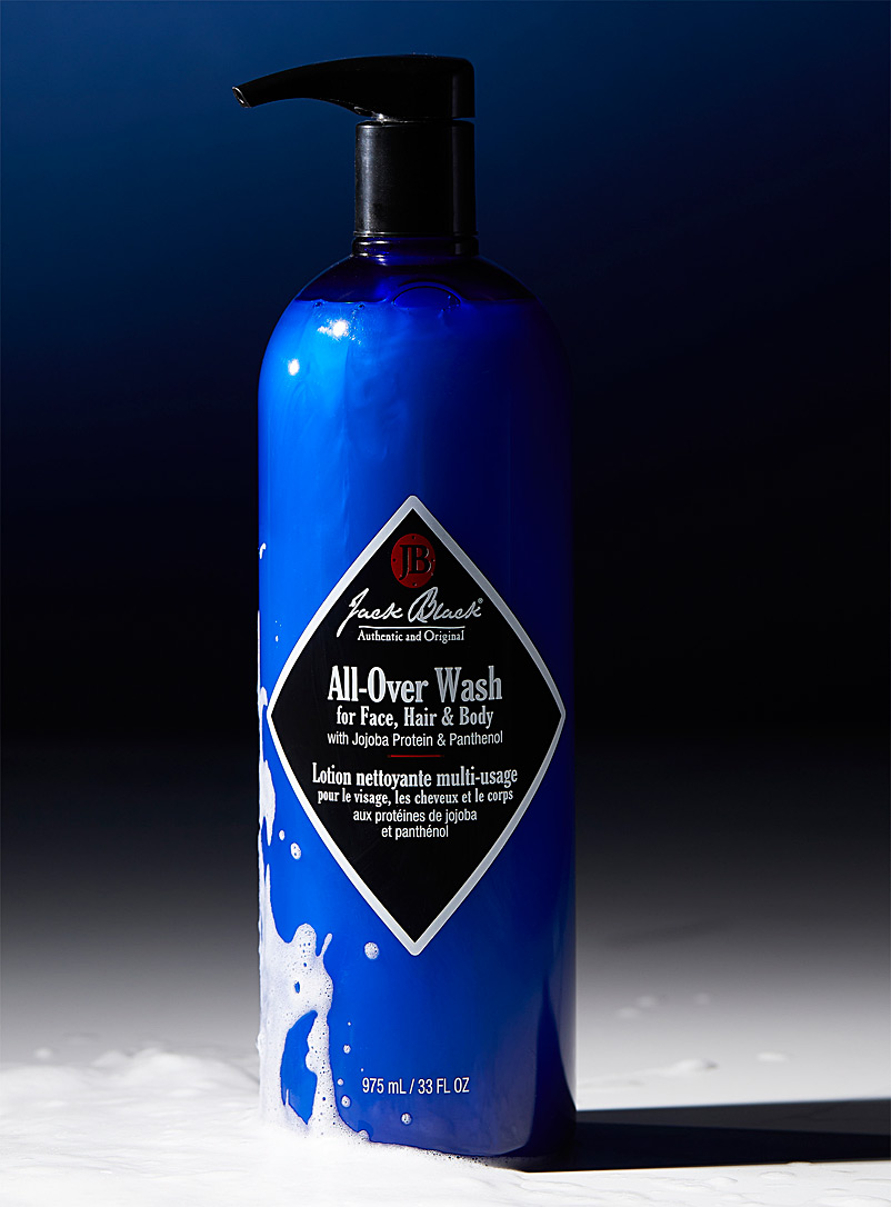 Jack Black Blue All-over wash for face, hair and body for men