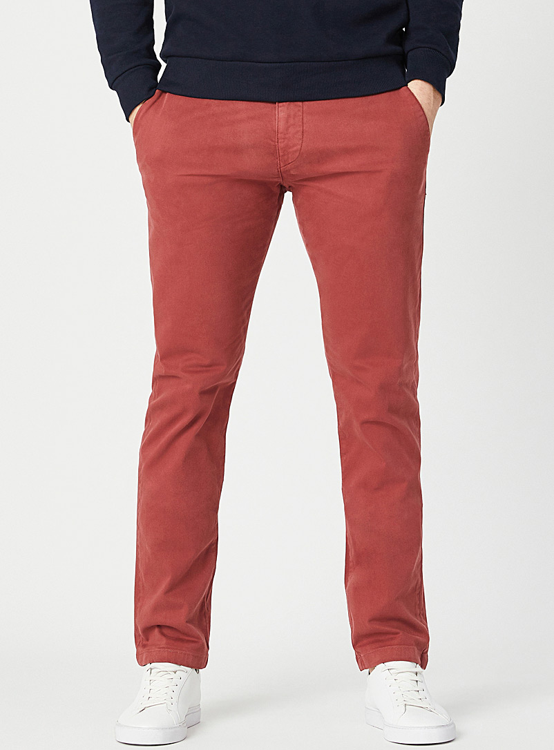 Mavi Jeans Red Raspberry Johnny chinos Slim fit for men