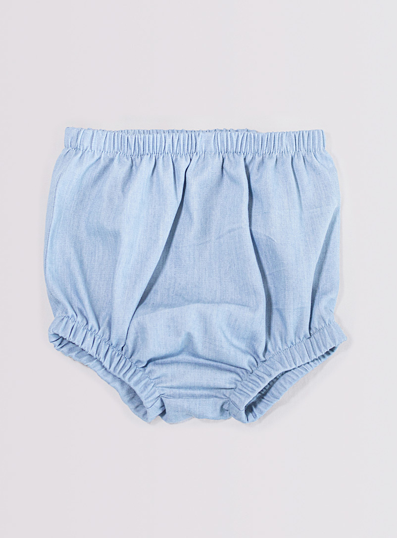 Petits Genoux Baby Blue Denim knicker Kids