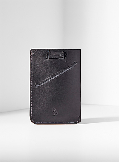 Eco-friendly leather card holder