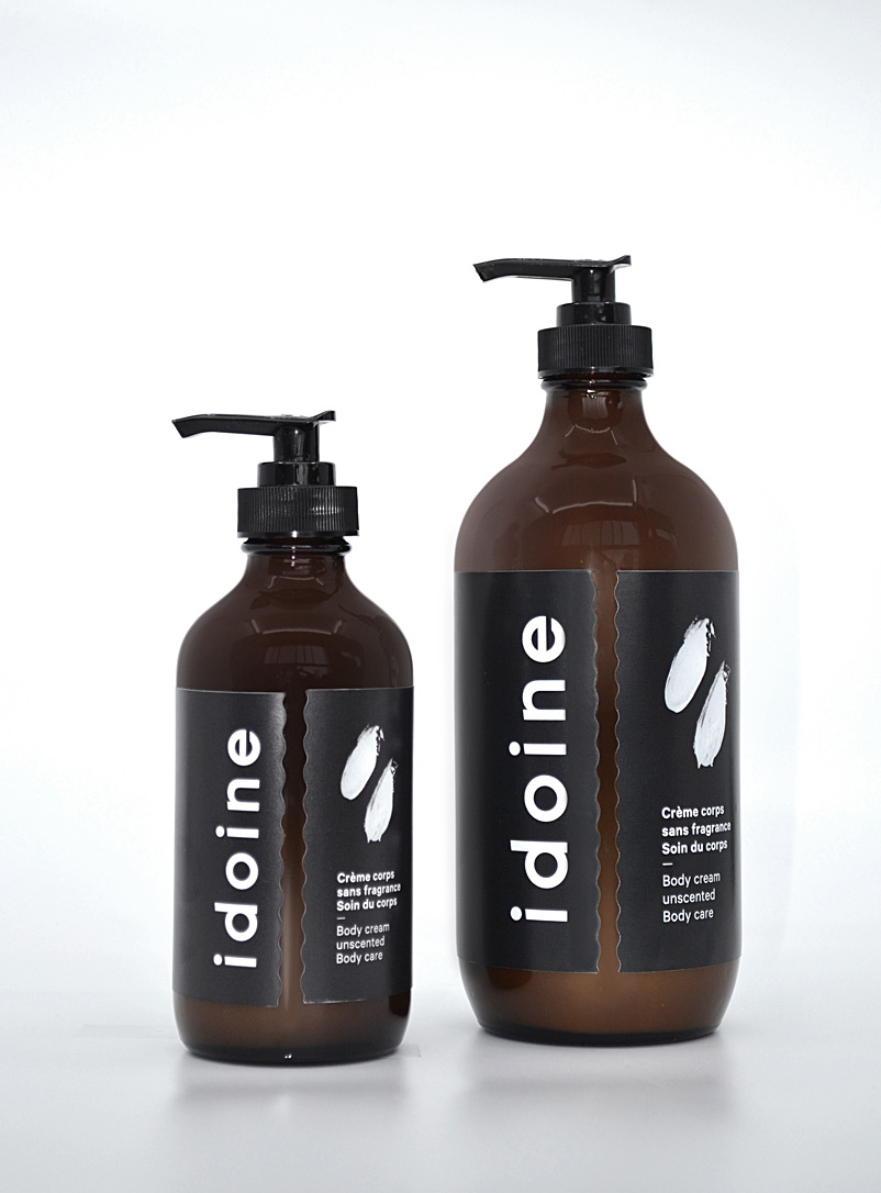 idoine Assorted Fragrance-free body cream Available in twosizes