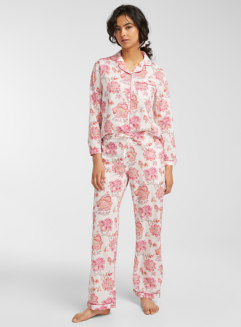 Miiyu Pink Taylor pyjama set for women