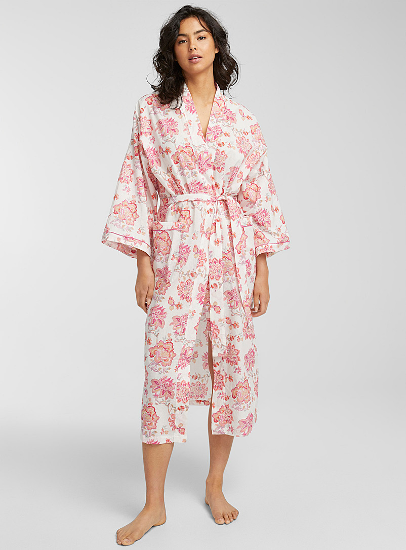 Miiyu Pink Taylor robe for women