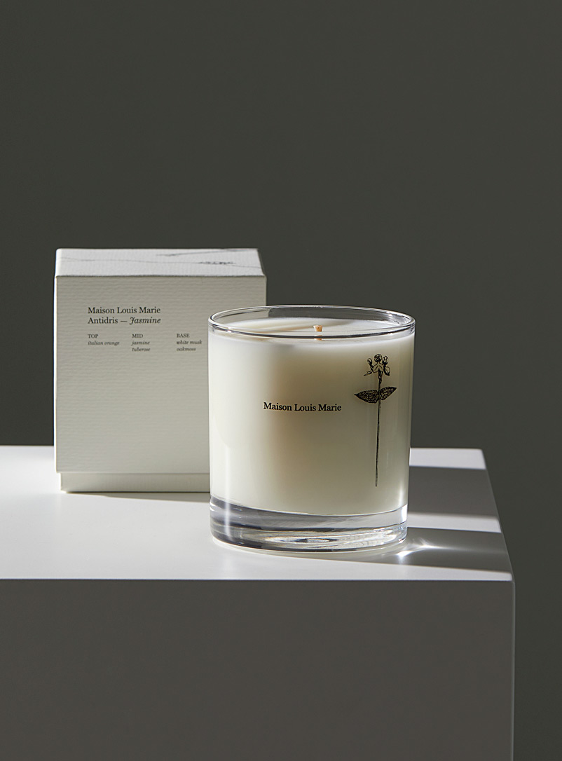 Maison Louis Marie Assorted Antidris jasmine scented candle for men