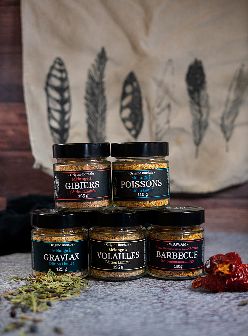 Wigwam Assorted Indigenous spice blend set