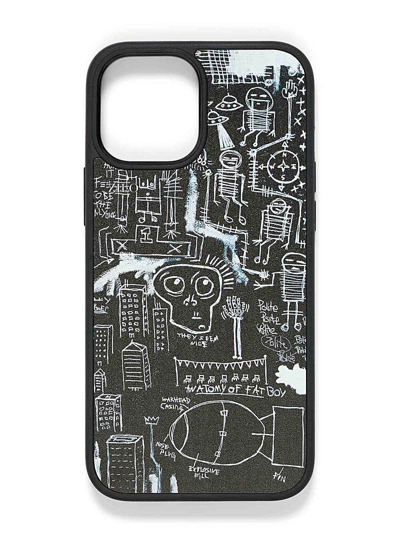 Zilo Black and White Artist canvas iPhone 12 Pro Max case for women