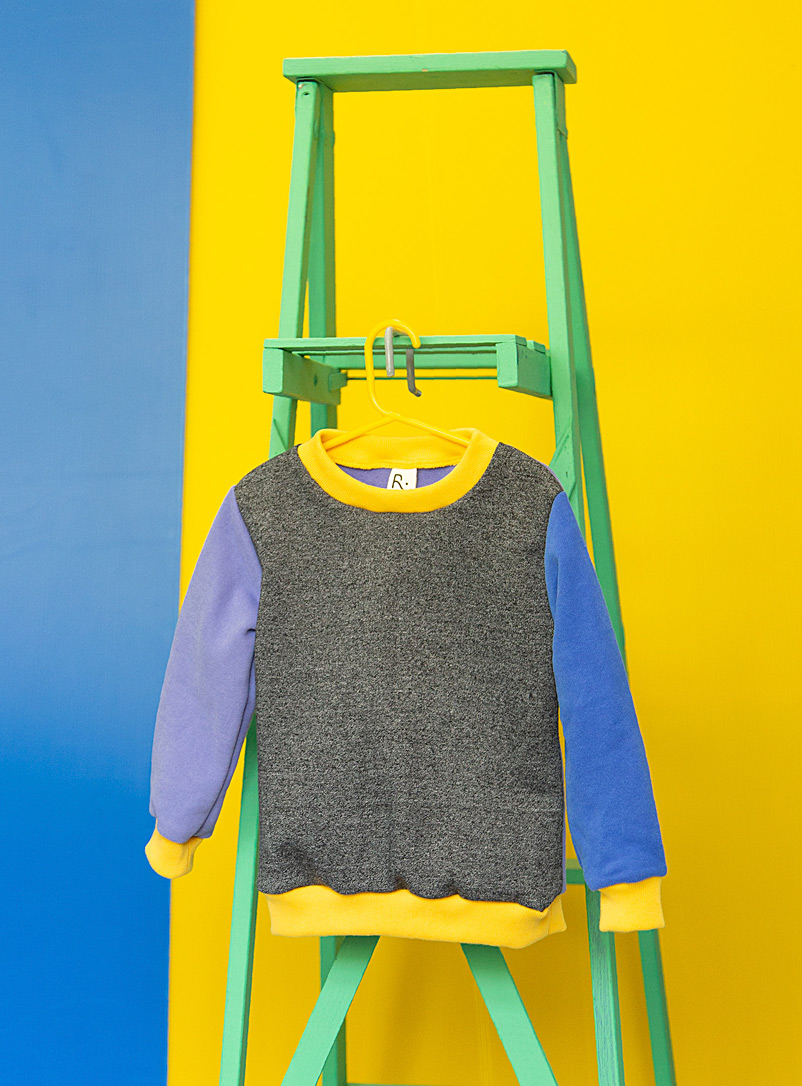 Récré Assorted yellow  Playful trims sweatshirt Kids - Ages 4 to 5 years
