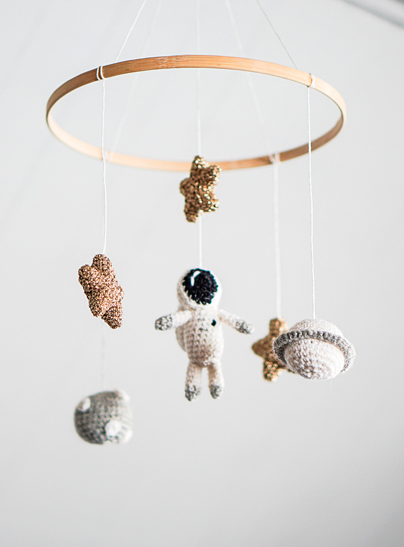 CROCHETMILIE Assorted Dreaming of the Universe mobile