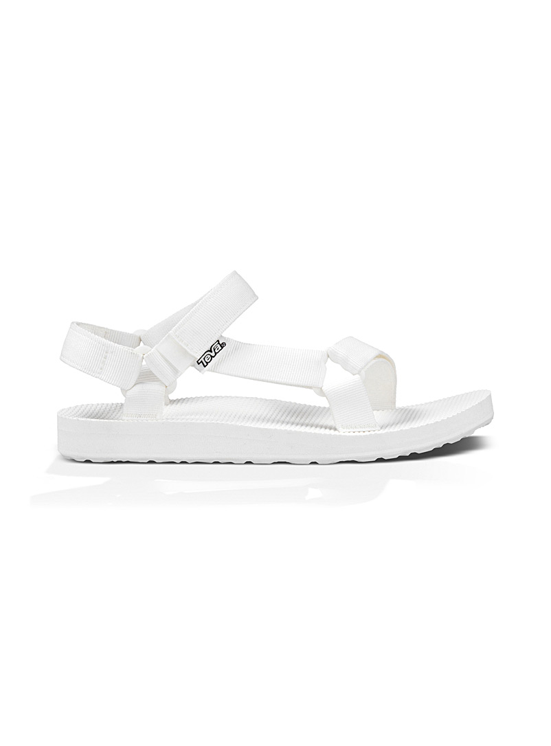 Teva White Original Universal sports sandals  Women for women