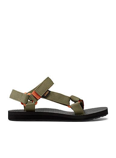 Teva Khaki Original Universal sports sandals  Women for women