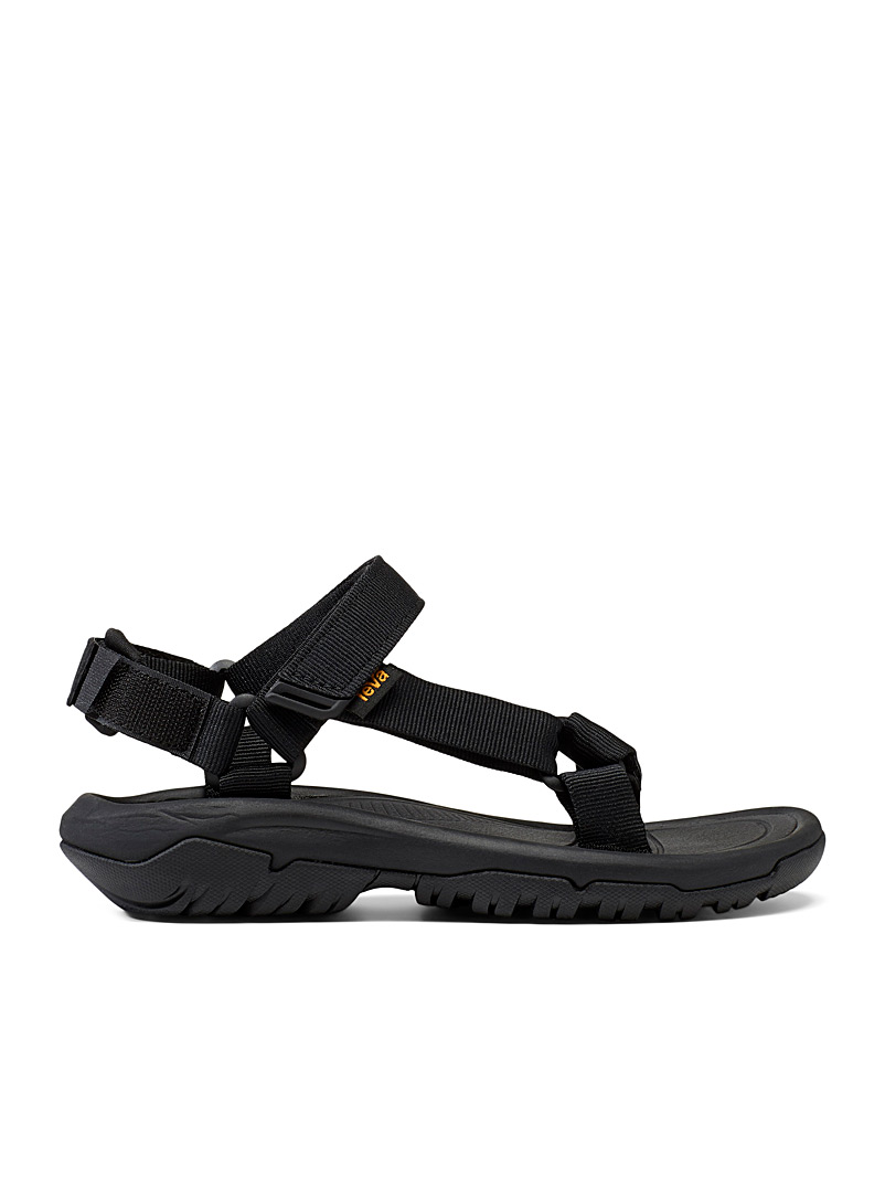 Teva Black Hurricane Drift sports sandals for women