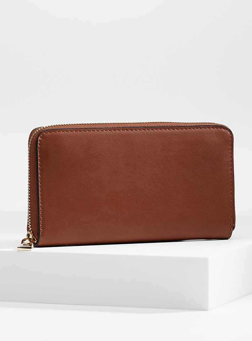 Simons Brown Organization wallet for women
