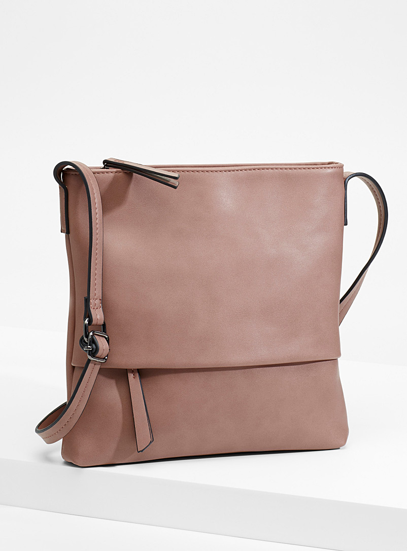 Colourful shoulder bag - Crossbody Bags - Light Brown
