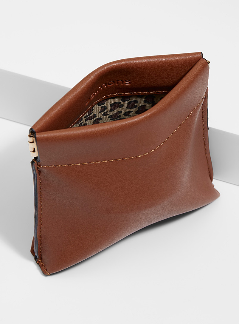 Click-clack coin purse - Wallets - Brown