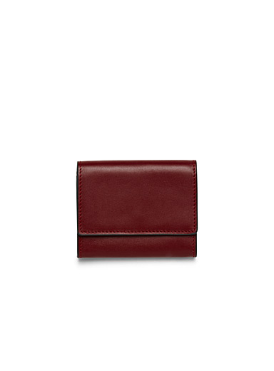 Miniature leather wallet