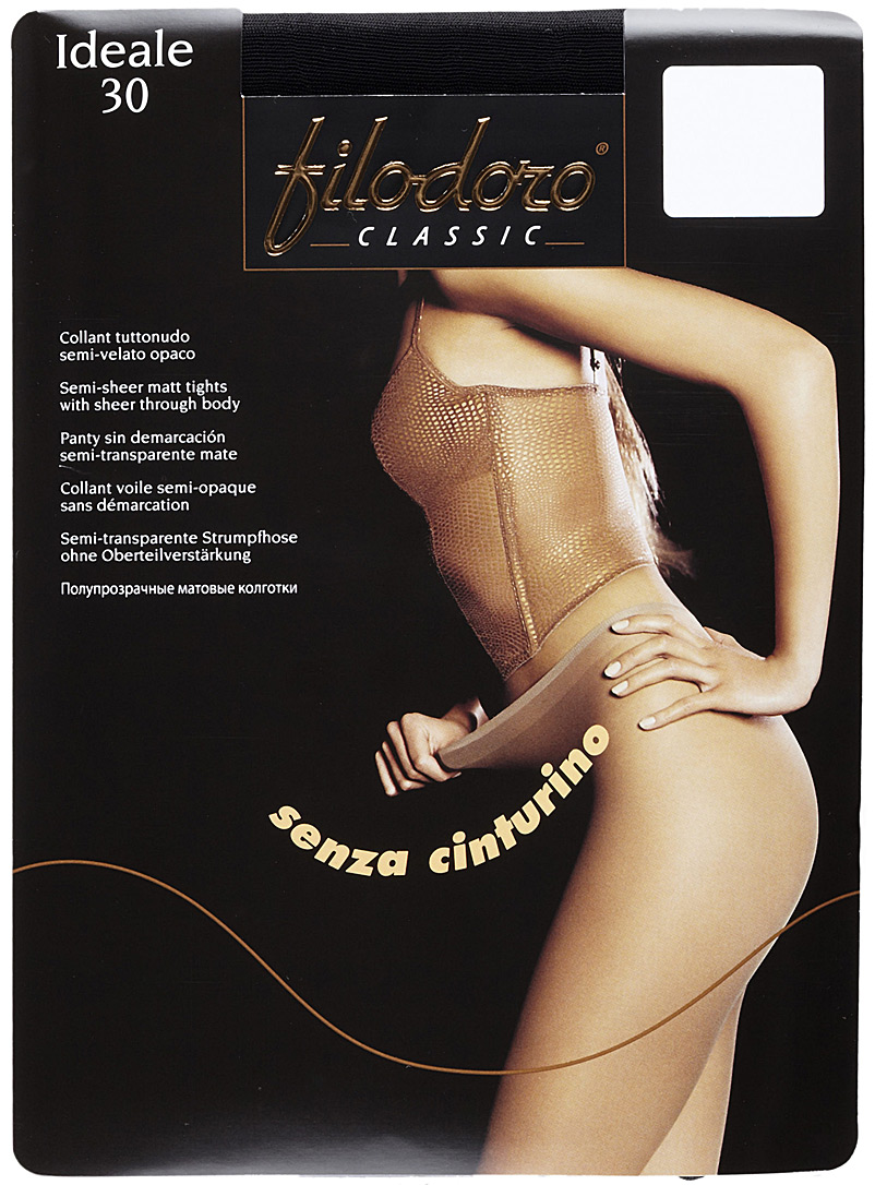 Filodoro Playa Ideale semi-opaque pantyhose for women