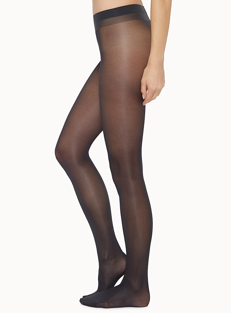 Diana glossy pantyhose - Invisible Toe - Anthracite