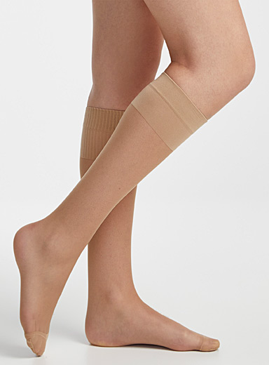Filodoro Playa Comfort-band knee-highs for women