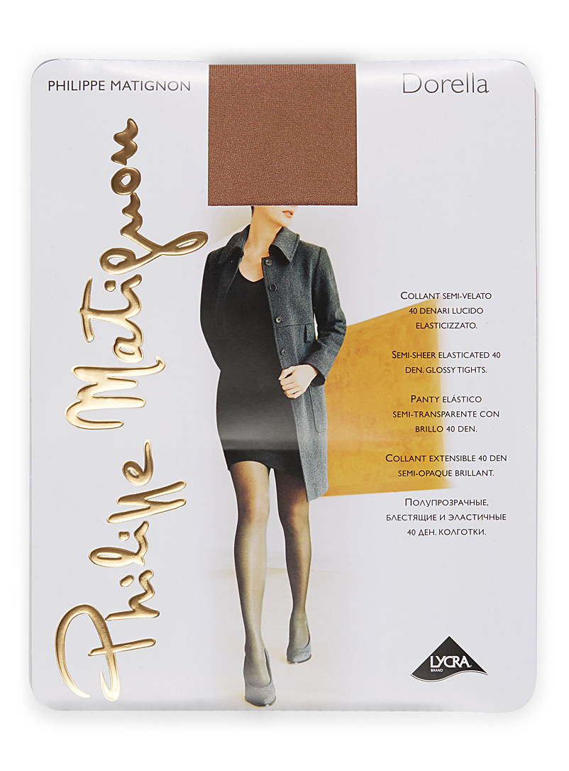 Glossy semi opaque pantyhose - Regular Nylons - Playa