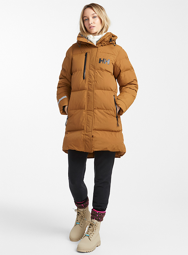 Adore quilted parka  Long fit - Outdoor - Fawn