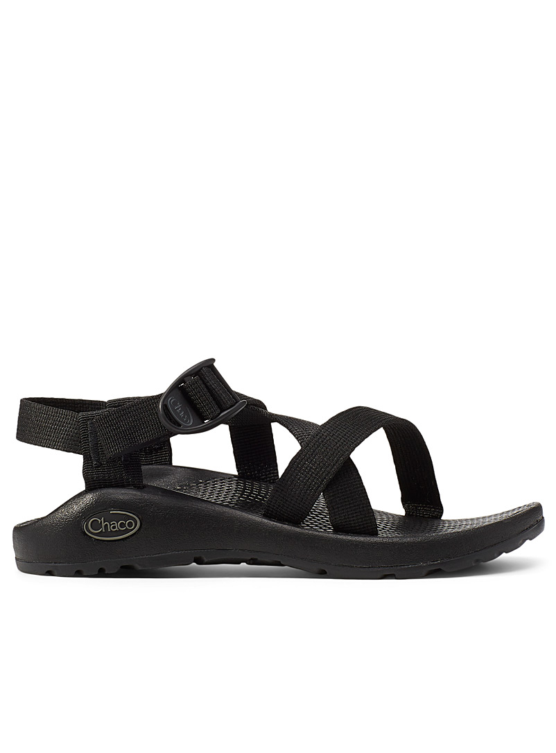 Chaco Black Z1 Classic utility sandals for women