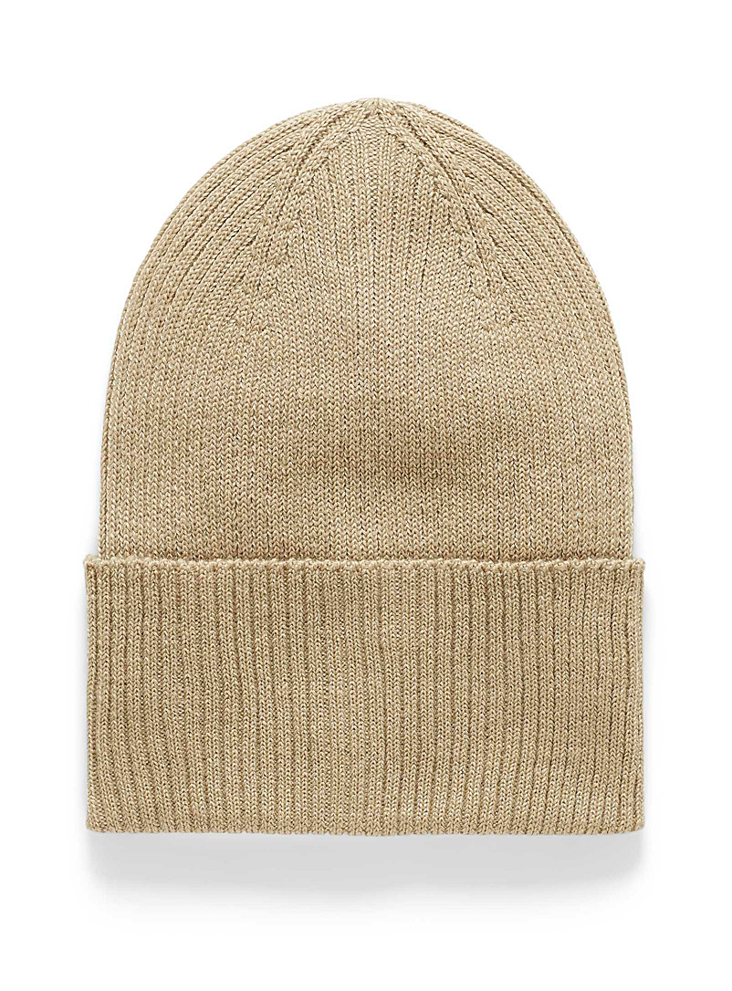Cuffed solid tuque