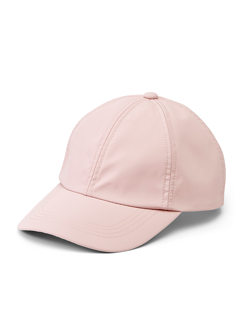 Simons Pink Solid cap for women
