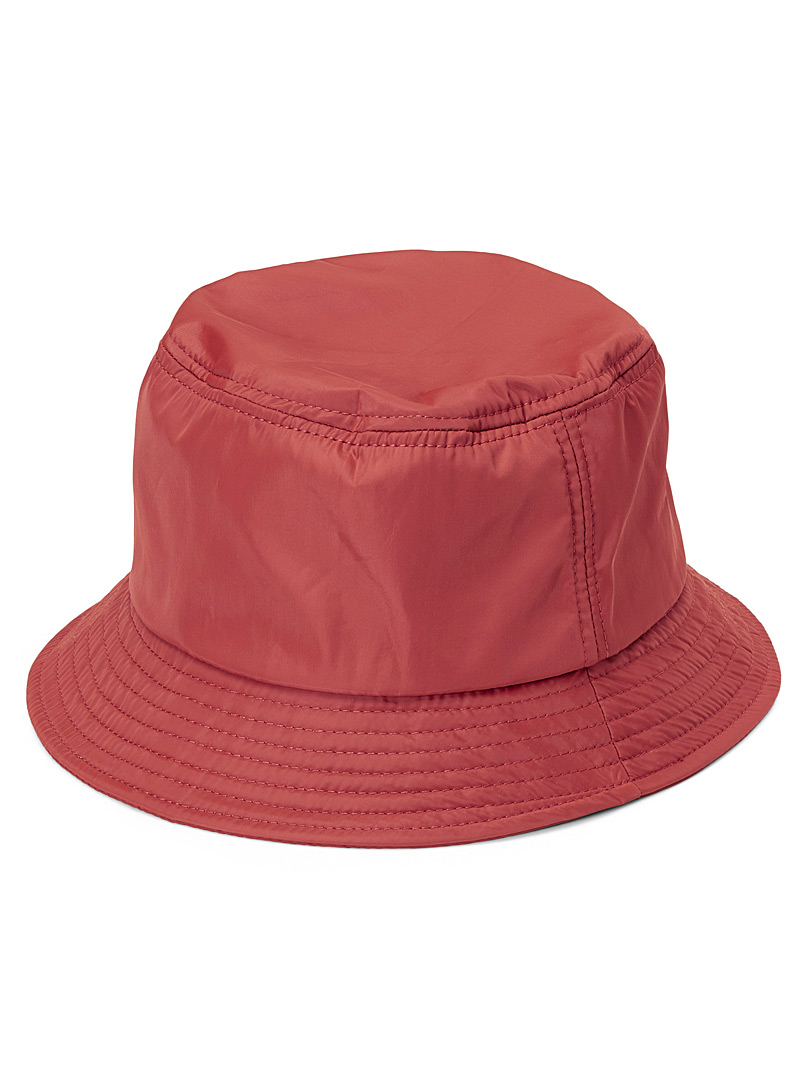 Simons Rust  Nylon bucket hat for women