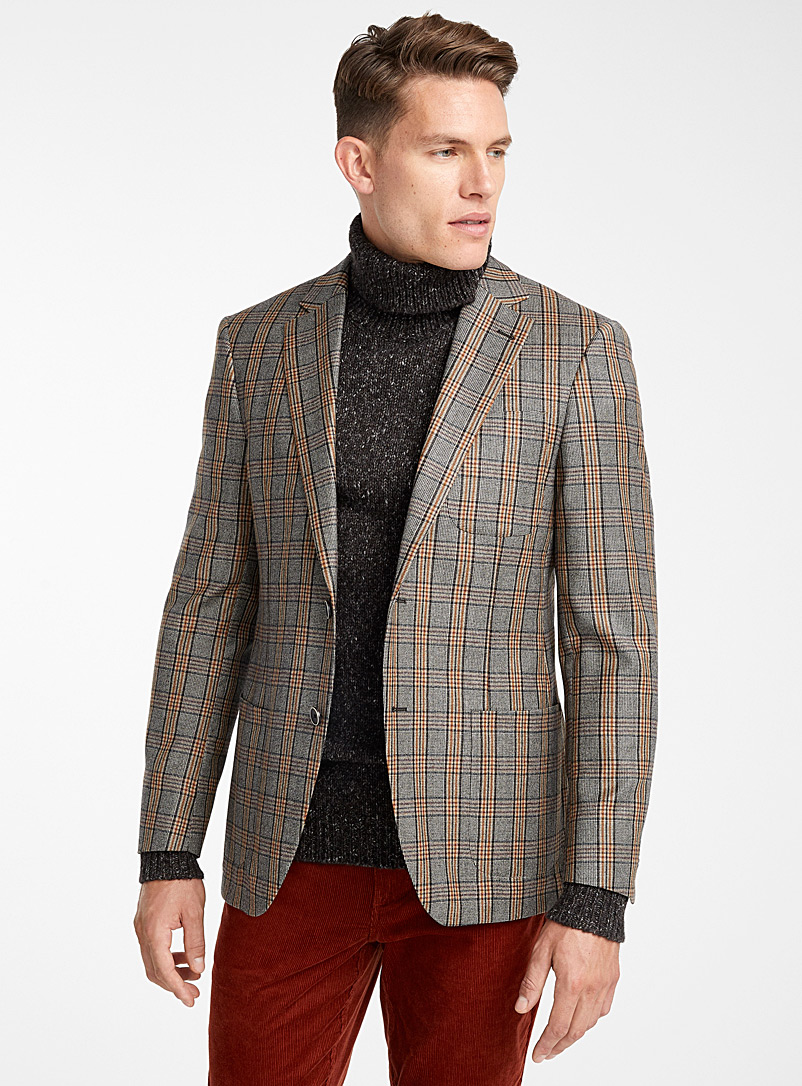 ochre-plaid-jacket-br-semi-slim-fit
