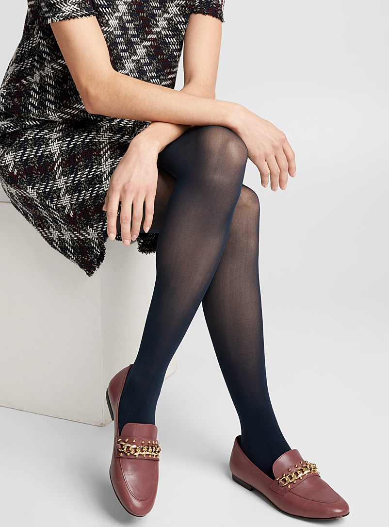 Essential opaque tights - Tights - Marine Blue