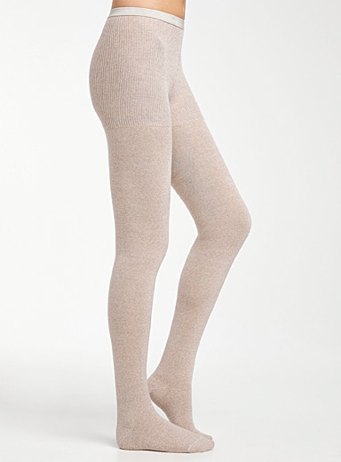 Merino solid tights